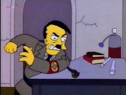 Adolf Hitler in The Simpsons