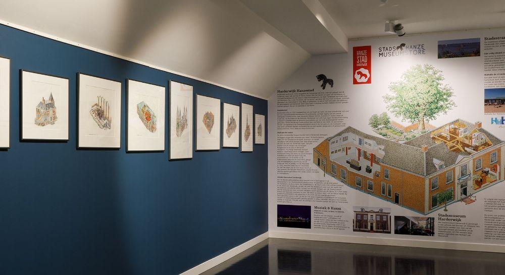 Capitool-tekeningen van Jan Egas te zien in het Stadsmuseum