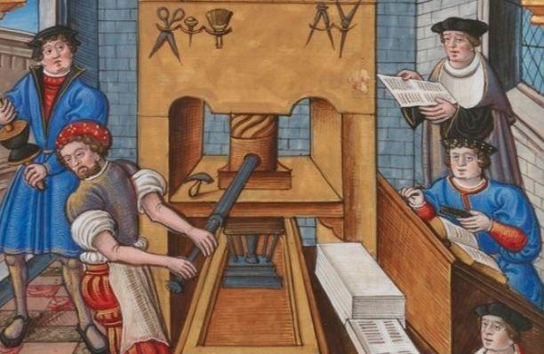 De uitvinding van de boekdrukkunst - Boekdrukkunst in de vijftiende eeuw