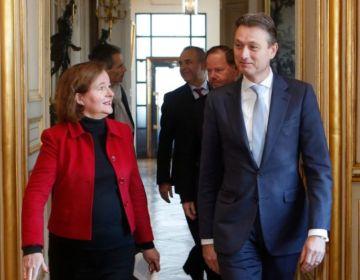Halbe Zijlstra als minister van Buitenlandse Zaken (Foto: BUZA)