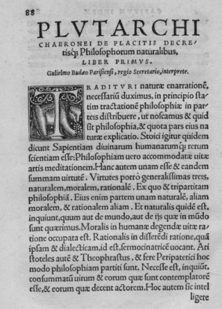 Moralia, 1531