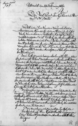 Brief van Nicolaas Beets uit 1861 (Collectie UB Leiden) - cc - wiki