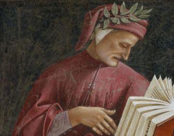 Dante Alighieri op een fresco van Luca Signorelli (wiki)