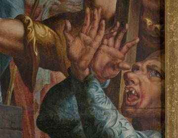 Het Laurentius-altaarstuk van Maarten van Heemskerck, detail (Foto SMA)