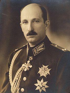 Koning Boris III van Bulgarije, die kort na zijn ontmoeting met Hitler overleed.