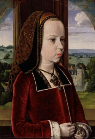Margaretha van Oostenrijk, Jean Hey ca. 1490