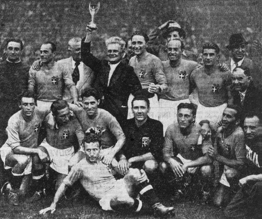 Italiaanse ploeg na de gewonnen finale - wiki