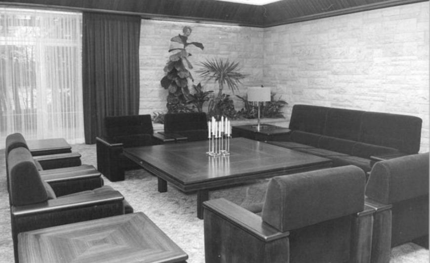 Conferentiekamer in het Gästehaus van de DDR (cc - Bundesarchiv, 1981)