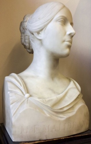 Buste van 'La Malibran', door F. Giungi, 1834 (CC BY-SA 4.0 - Bib-crb - wiki)
