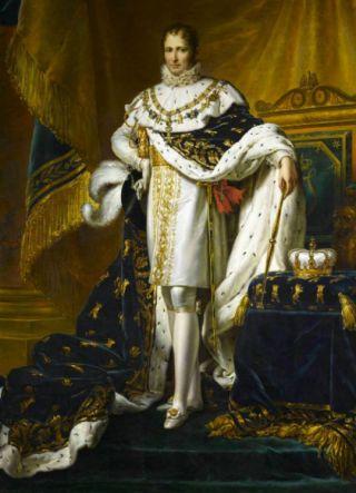 Jozef Bonaparte als koning van Spanje, geschilderd door François Gérard (Publiek Domein - wiki)