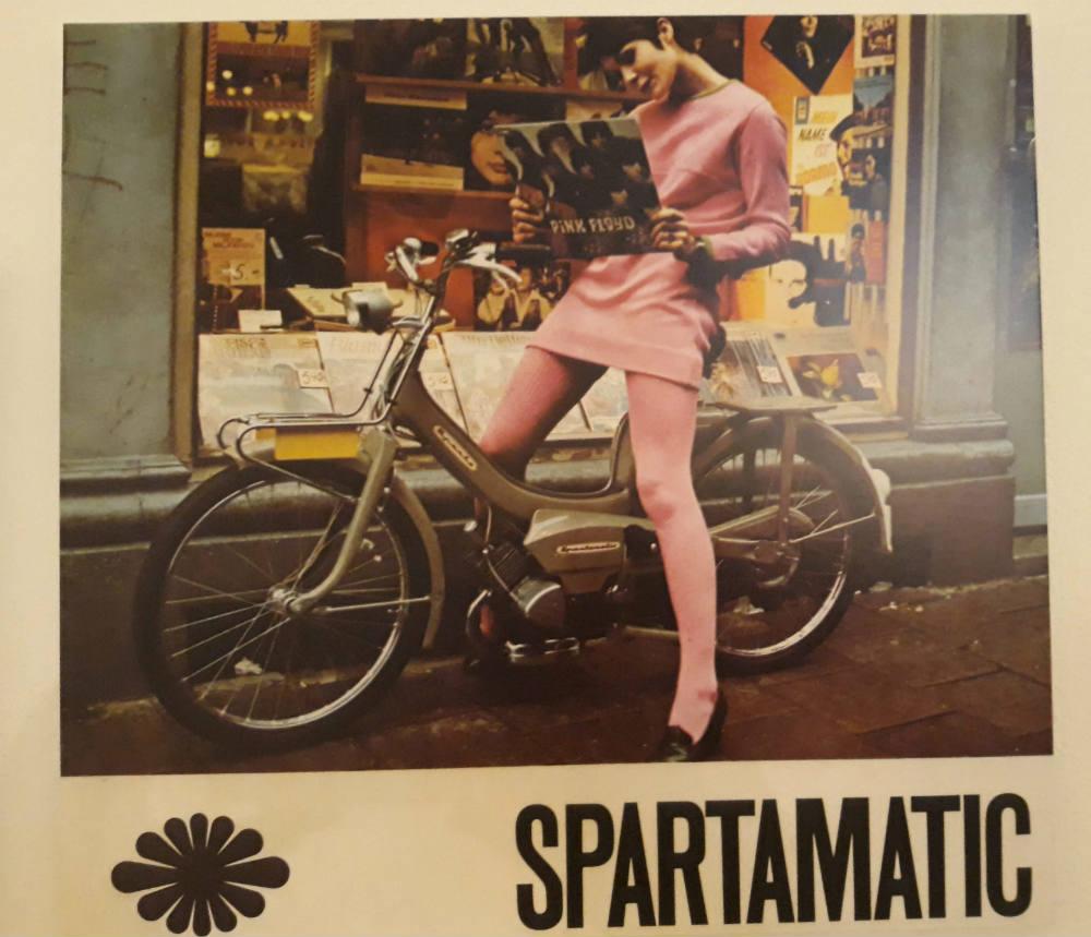 Reclame voor de Spartamatic te zien bij CODA (Foto Historiek)
