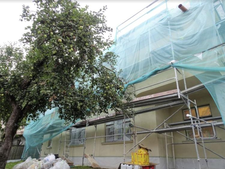Het ingepakte Sugihara House (Foto Chris Rachel Spatz)
