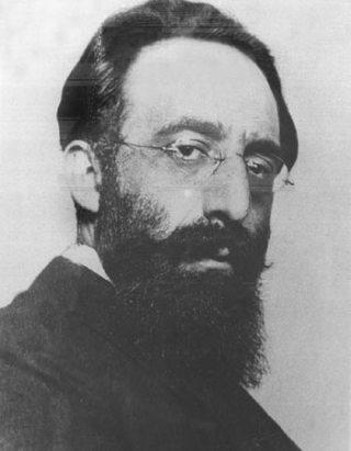 Nathan Birnbaum rond 1900