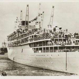De MS Oranje, een iconisch passagiersschip