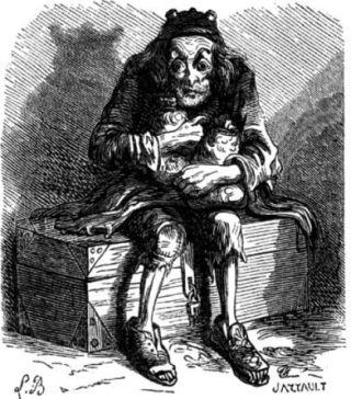 Mammon op een afbeelding uit 1863