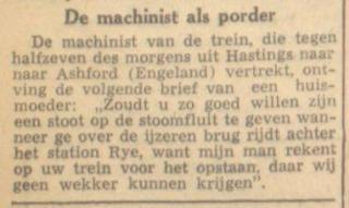 De machinist als porder (Leeuwarder Courant 21-1-1948 - Delpher)