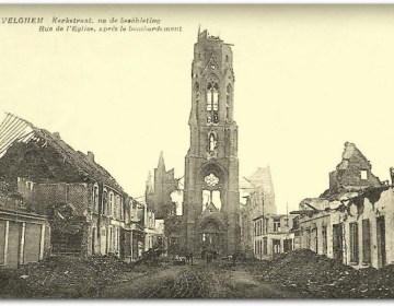 Avelgem in 1918