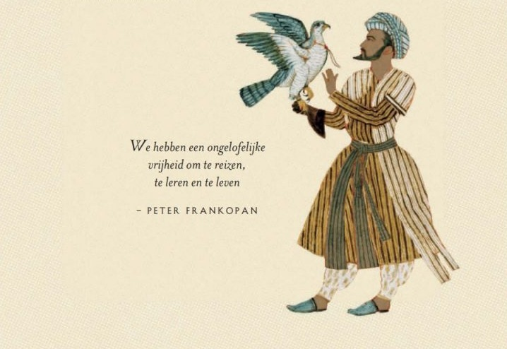 Citaat met afbeelding uit het boek