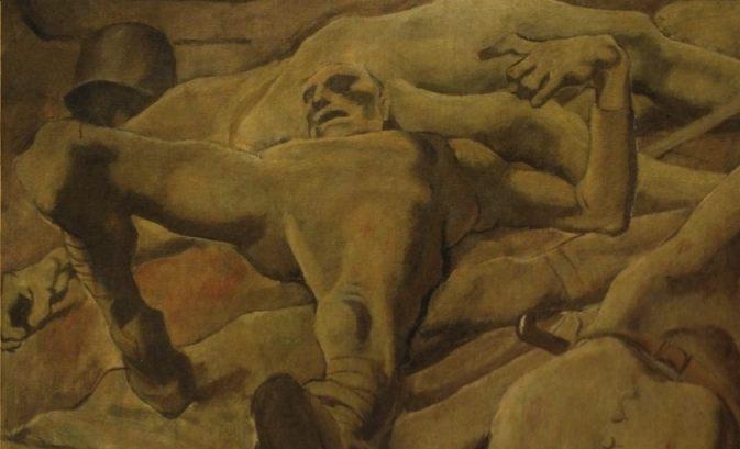 Kunstenaars in de frontlinie van de Eerste Wereldoorlog