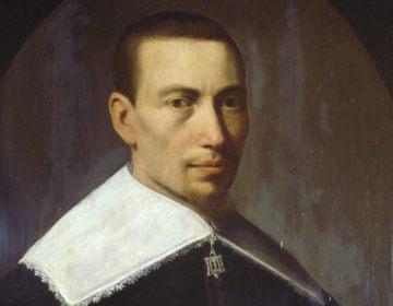 Gysbert Japicx, in 1637 geschilderd door Matthijs Harings