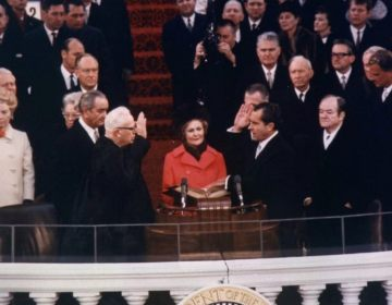 Inauguratie van Richard Nixon, 20 januari 1969 (Publiek Domein - Oliver F. Atkins)