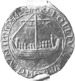 Zegel van Medemblik uit 1550 (Publiek Domein - wiki)