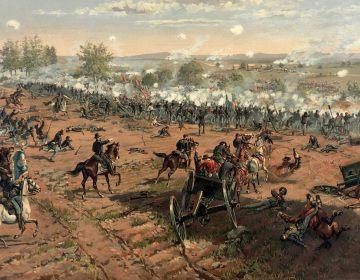 Amerikaanse Burgeroorlog - Slag bij Gettysburg (Publiek Domein - wiki)
