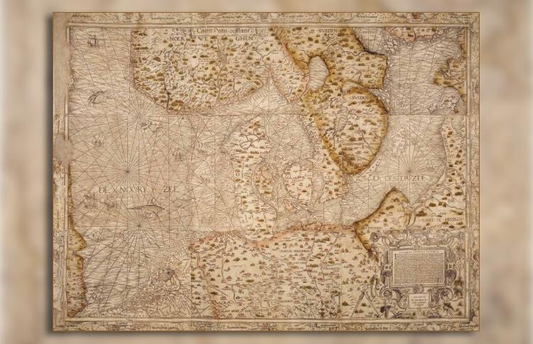 De 'Caerte van Oostlant' (1543) van Cornelis Anthonisz