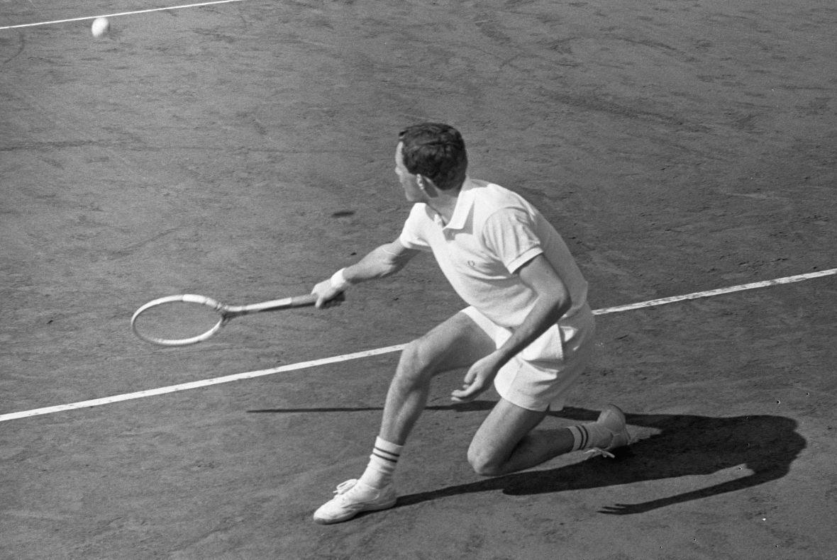 Tom Okker (1944) – Nederlandse toptennisser
