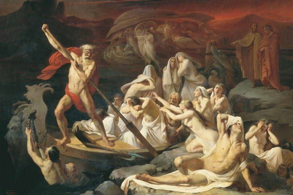 In Charons boot treden – Herkomst en betekenis