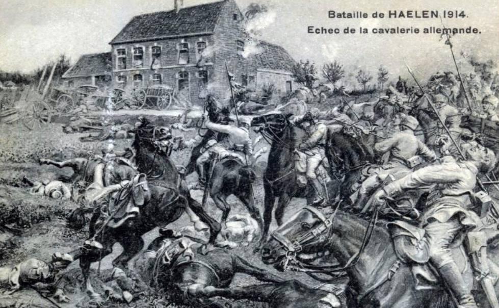 De Slag der Zilveren Helmen (1914)