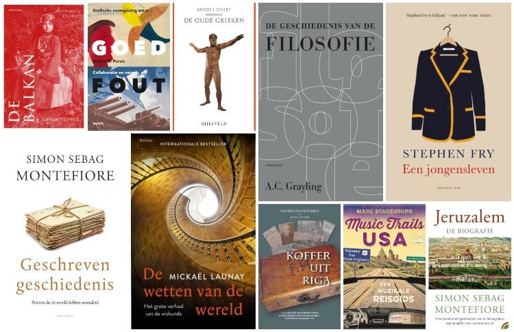 Nieuwe geschiedenisboeken (week 35) – 2019