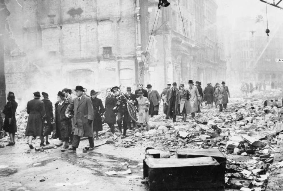 Bombardementen WOII braken moraal burgers niet
