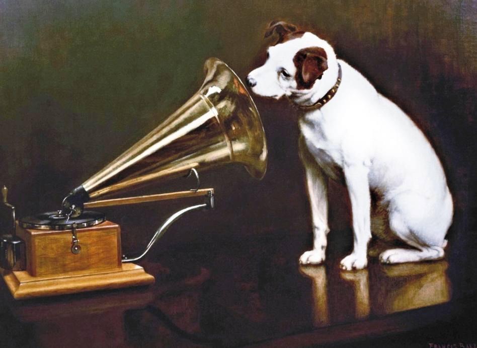 His Master's Voice – Het hondje Nipper en de grammofoonplaat