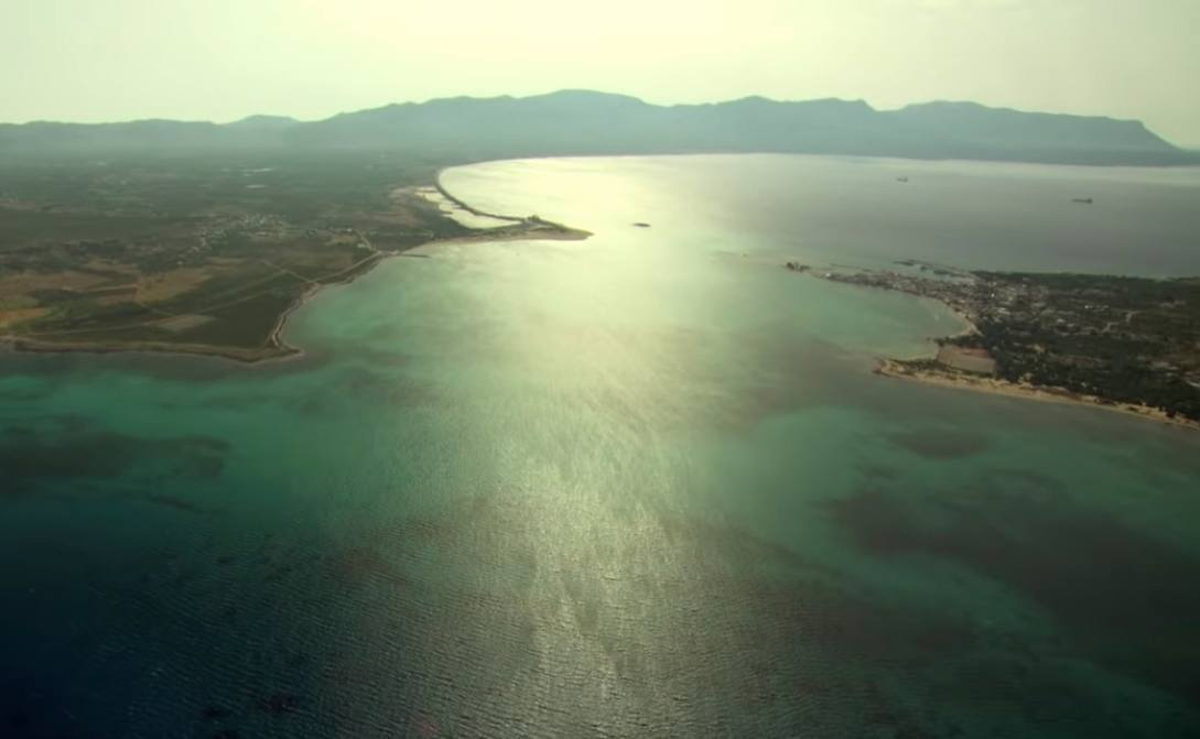 Ontdekking van de door de zee verzwolgen stad Pavlopetri