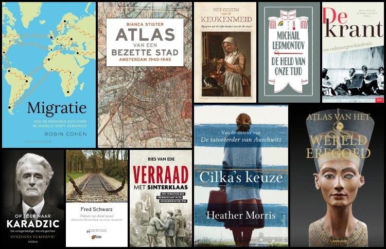 Nieuwe geschiedenisboeken (week 43) – 2019