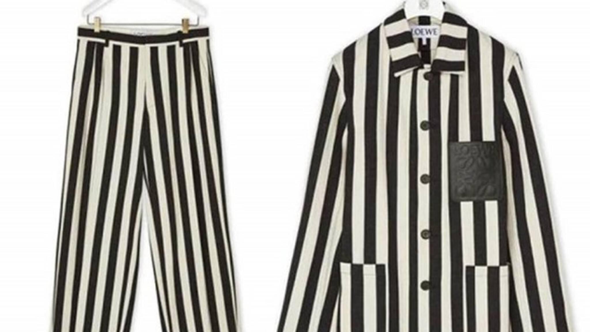 Ophef om 'concentratiekamp-pak' Spaans modehuis