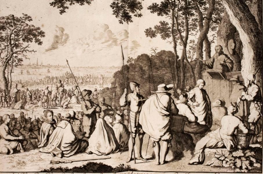 Hagenpreken – Prediking in het open veld