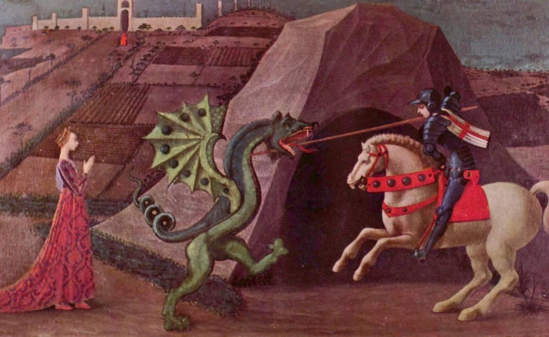 De draak met iets steken – Herkomst en betekenis