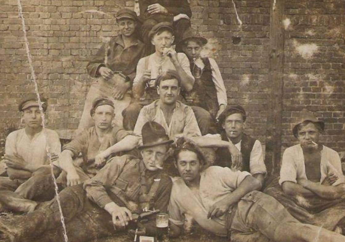 Nederlandse arbeiders in het Ruhrgebied, 1900-1940