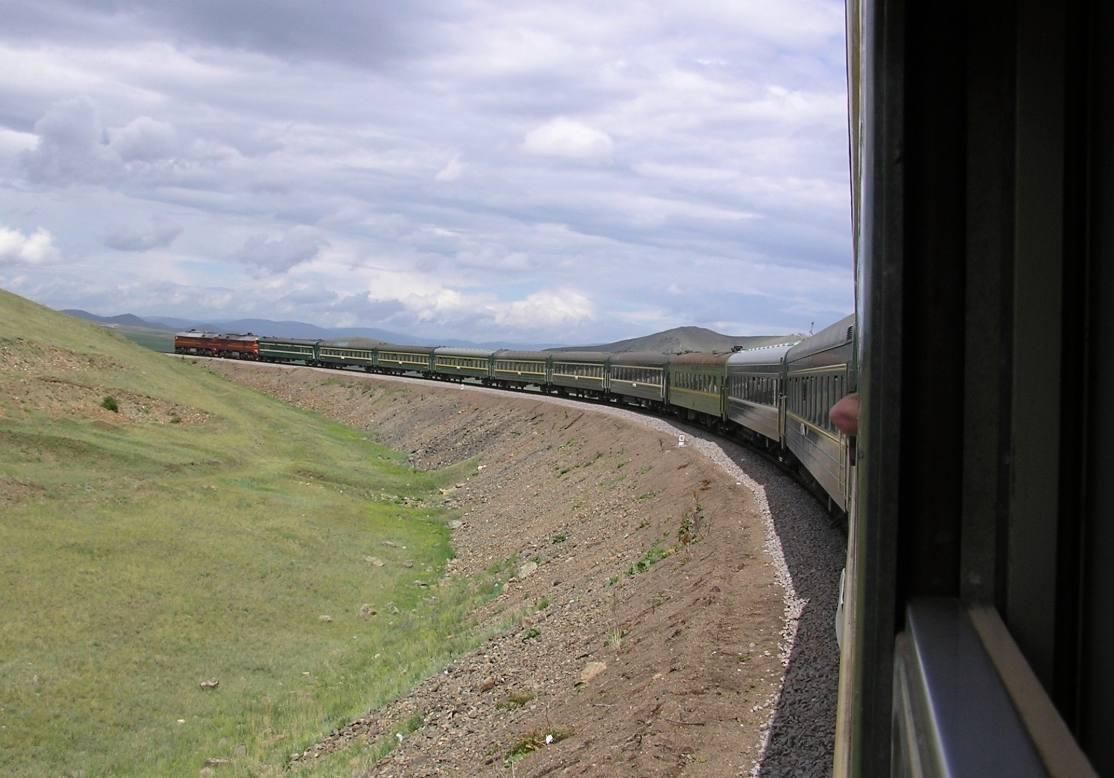 Op en langs het spoor van de Transsiberische spoorlijn