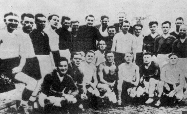 De heroïsche strijd van FC Start tegen de Duitse bezetter