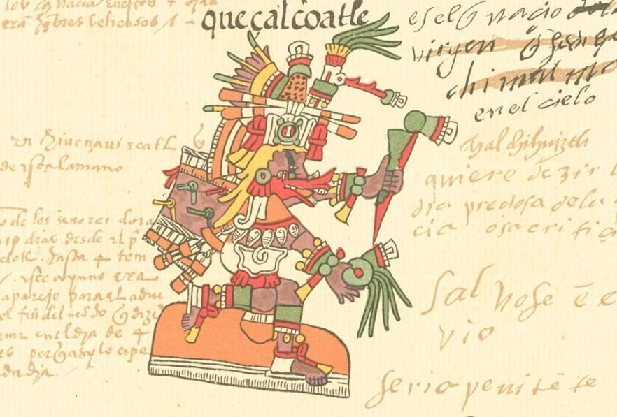 Quetzalcóatl – God uit de Azteekse mythologie