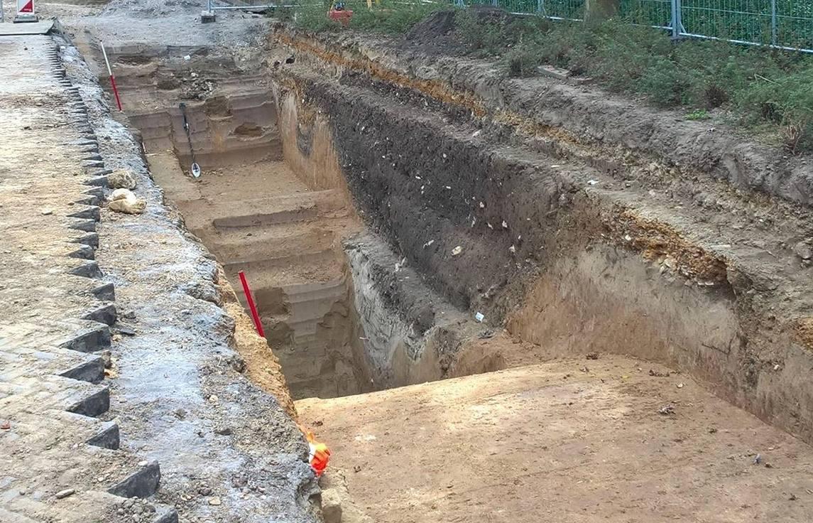 Toegang tot Romeinse versterking ontdekt in Heerlen