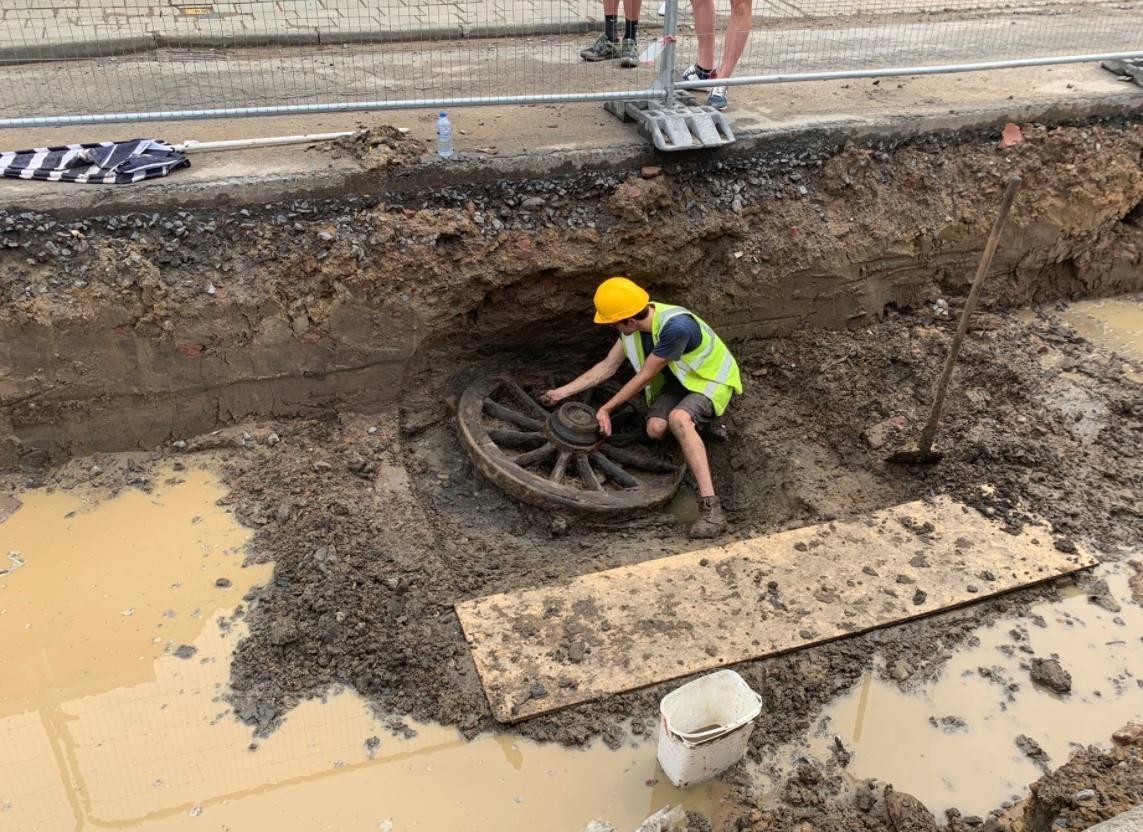Ondergrondse tunnels uit Eerste Wereldoorlog gevonden