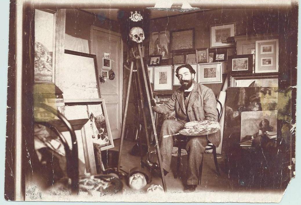 James Ensor, een leven van een excentrieke schilder-schrijver