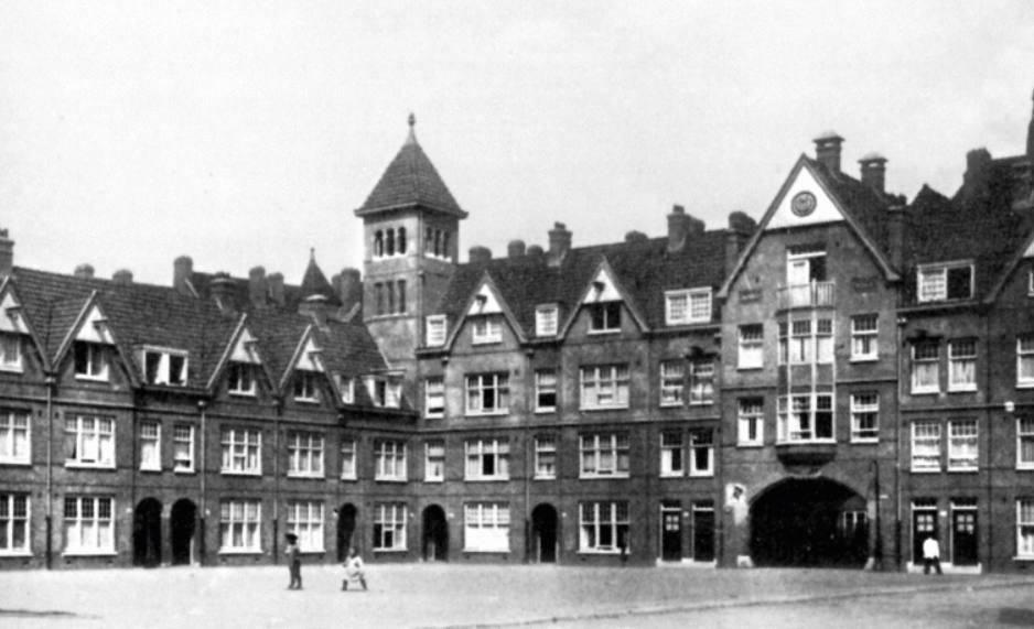 De Zaanhof in Amsterdam