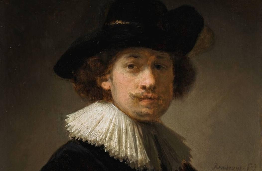 Zelfportret Rembrandt geveild voor 14 miljoen euro