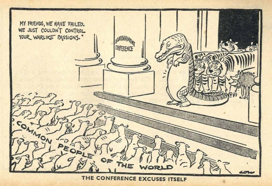 De Volkenbond en de Wereld Ontwapeningsconferentie (1932-34)