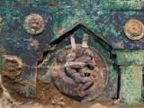 Romeinse wagen met erotische afbeeldingen gevonden